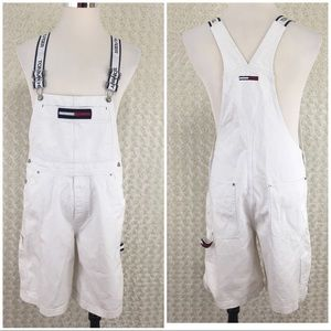 Tommy Hilfiger Shorts Overall White Sz L